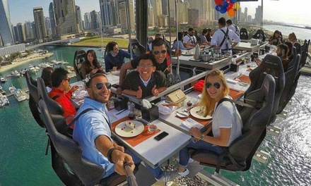 Lunch or Dinner on Weekday or Weekend with Dinner in the Sky (Up to 25% Off)