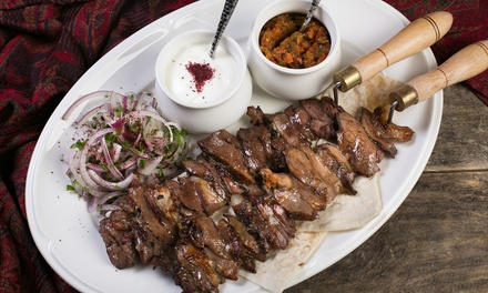 Two Course Azerbaijani Meal for Up to Four at Jag Azerbaijani Cuisine (Up to 42% Off)