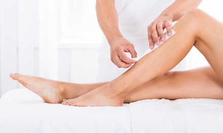 Full Arm, Leg and Underarm Wax, or Full Body Wax with Optional Threading or Full Face Wax at Mirrors Beauty Lounge
