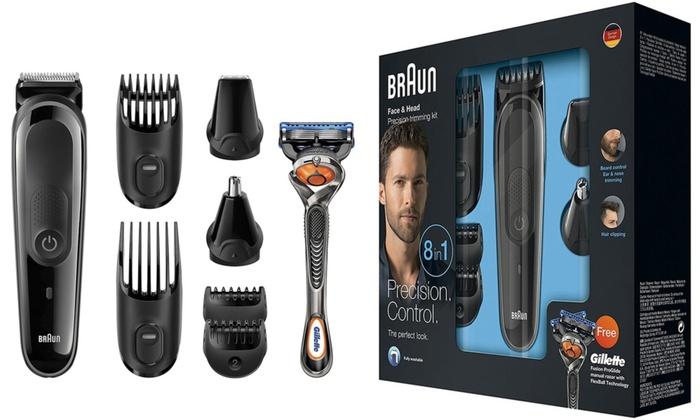 Up To 39% Off Braun 8-in-1 Multi-Grooming Kit | Groupon