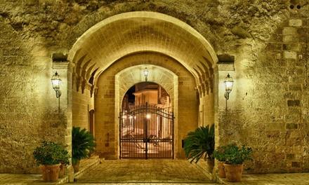 Castello Conti Filo: visita guidata e menu tipico salentino da 3 portate con calice di Primitivo (sconto fino a 64%)