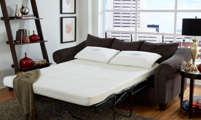 Nature S Sleep Gel Memory Foam Sofa Sleeper Replacement Mattress