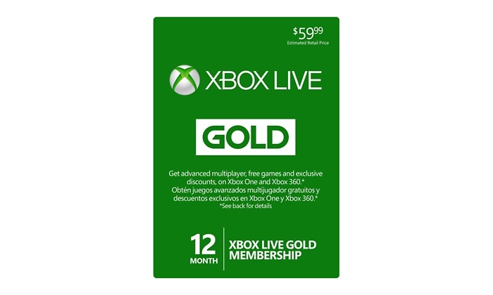 groupon for xbox live