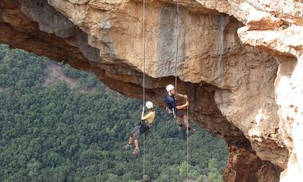 בין שמיים לארץ: חווית סנפלינג מגובה של 45 מטר ממערת קשת או מגובה של 24 מטר ממחצבות קדומים שבכרמל החל מ 50 ₪ בלבד!