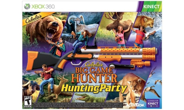 Up To 60  Off on Cabela s Big Game Hunter   Groupon Goods Cabela s Big Game Hunter  Hunting Party for Xbox 360 Kinect