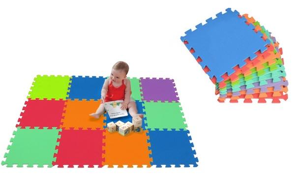 tapis puzzle pour enfants en mousse de 10 20 ou 30 pieces