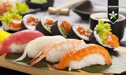 Oh Sushi   Cena giapponese con 8 piatti a scelta dal kaiten e birra o vino
