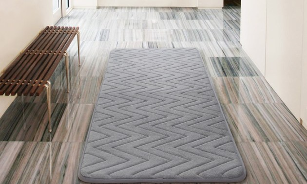 Up To 66  Off on Oversized Memory Foam Bath Rug   Groupon Goods Oversized Memory Foam Bath Rug