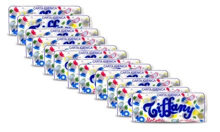 120 rotoli di carta igienica a 2 veli Tiffany