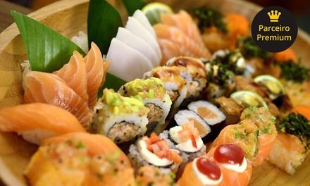 Rodízio japonês para 1 ou 2 pessoas no Sushi Oba Restaurante – Saúde
