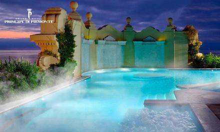 Principe di Piemonte: Spa a 5 stelle, massaggio di coppia e piscina salata a 36° effetto thalasso termale da 39,90 €