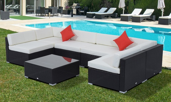 outsunny outdoor patio set from 699 to 1 129 shipping included