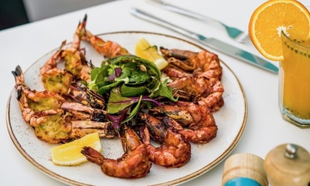 Up to AED 300 Toward Seafood and Beverages at As Your Fish (50% Off)