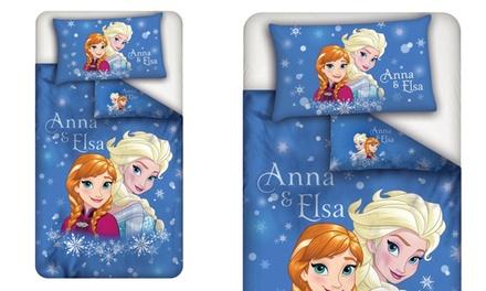 Completo letto singolo Disney da 2 o 3 pezzi disponibile in 2 fantasie