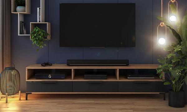 meuble tv rikke avec ou sans led