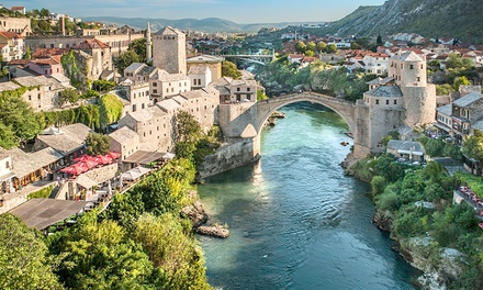 Bosnia and Herzegovina: 6 Night Holiday with 4* Hotel Accommodation, Full Board, Airport Transfers and Guided Tours*