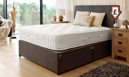Luxury Lambswool Memory Foam And Ortho Bonnell Mattress From Groupon Uk