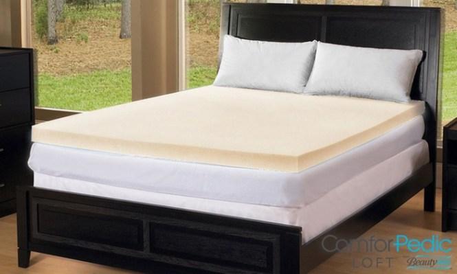 Comforpedic Loft From Beautyrest 4 Memory Foam Mattress Topper
