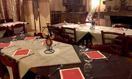 Menu di carne o pesce con dolce e vino per 2 persone allHosteria al Cantun (sconto fino a 61%)