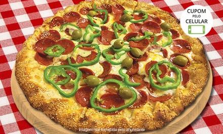 Dones Pizzas – Parque Residencial Julia: 1 ou 2 pizzas grandes gourmet