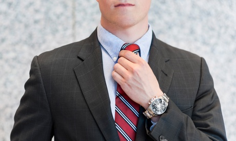$625 for a Men's Tailored Suit Package at Cuffs and Collars (Up to a $1,644 Total Value)