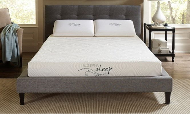 Nature S Sleep Cool Iq 8 Gel Infused Memory Foam Mattress