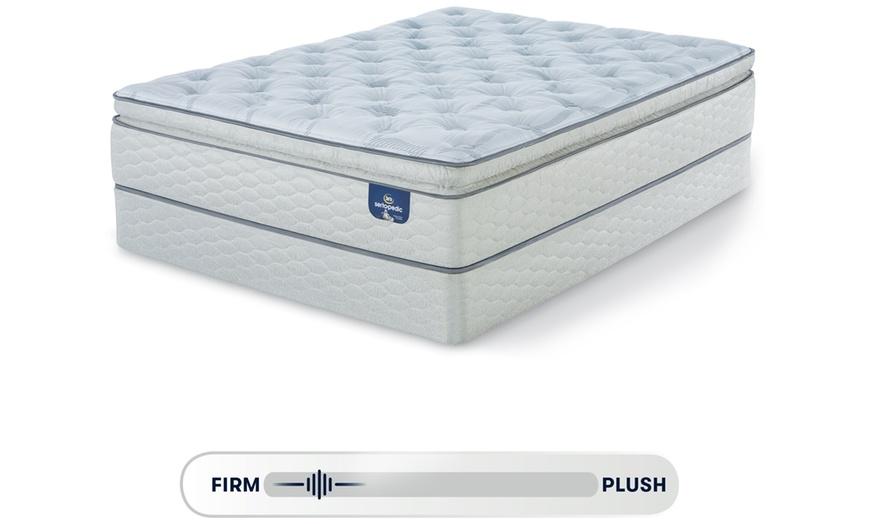 serta sertapedic 14 super pillow top mattress set free white glove delivery