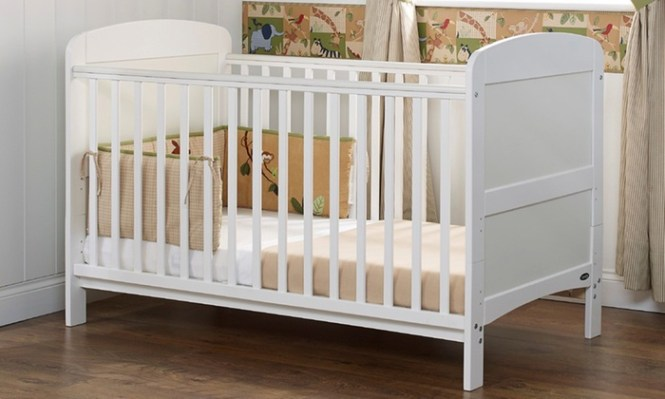 Groupon Goods Global Gmbh Obaby Grace Cot Bed With Foam Mattress Free Delivery