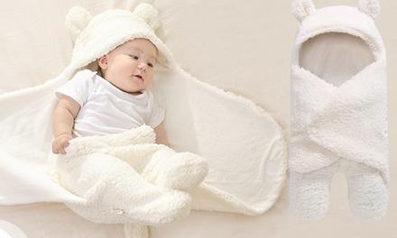 1 o 2 coperte per bebè in cotone felpato