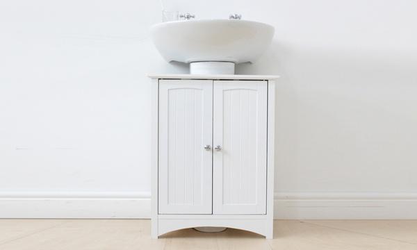 bathroom under sink storage unit with free delivery