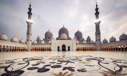 Abu Dhabi City Tour for One, Two or Four with Luxury Tours