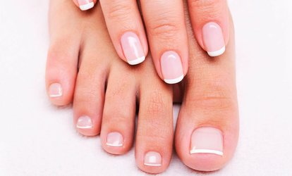 Image Placeholder For Clic Mani Pedi With Option Of Gelish Or French Add On At
