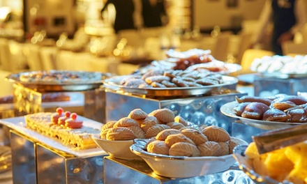 Lunch Buffet with Pool Access for Up to Two at Taverna at 5* Dubai Marine Beach Resort and Spa (Up to 40% Off)