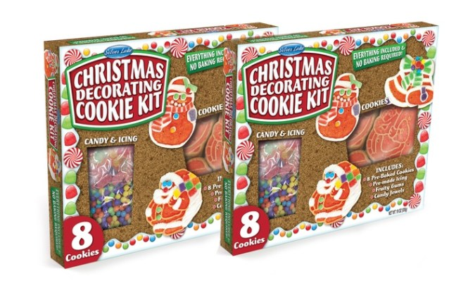 Wonka Giant Gingerbread Pal Cookie Decorating Kit 2016