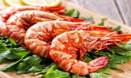 Menu 1 kg di grigliata mista di pesce, con tris di antipasti e dolce in centro a Venezia da Planet (sconto fino a 61%)