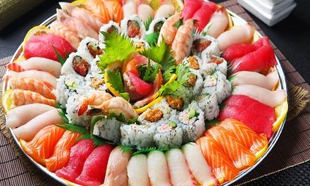 Sushi box dasporto da 54 o 108 pezzi dal ristorante Yuan Sushi (sconto fino a 72%)