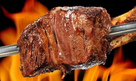 Menu brasiliano churrasco illimitato di carne e pesce più vino al Lido di Cadenabbia, lago di Como (sconto fino a 76%)