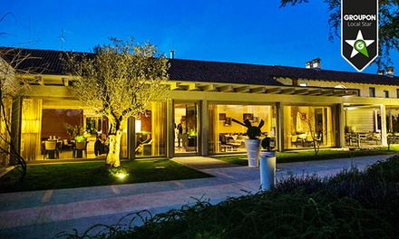 CA Restaurant & Resort   Menu gourmet alla carta con bottiglia di vino
