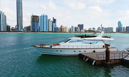 One  or Two Hour Yacht Rental for Up to 30 People from Compass Marine (Up to 61% Off)