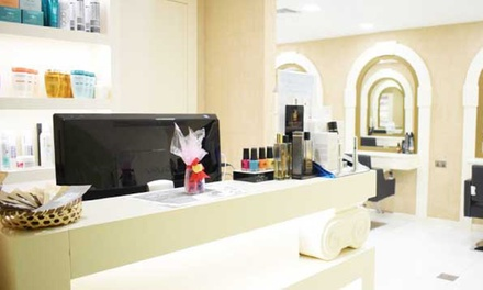 Manicure and Pedicure with Optional Foot Spa and Callus Treatment at Allure Beauty Lounge