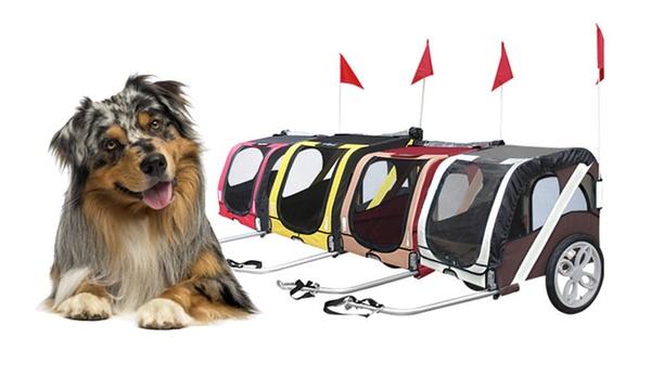 remorque de velo pour chien et chat 4 coloris au choix a 74 90 livraison offerte