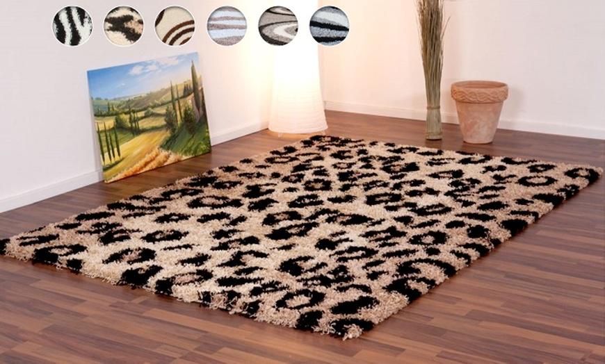 nouveaux tapis shaggy leopard zebre et motifs des 39 9 livraison offerte jusqu a 62 de reduction