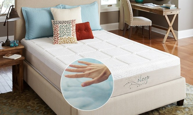 Nature S Sleep Gel Memory Foam Mattress With Free Pillows 10 5