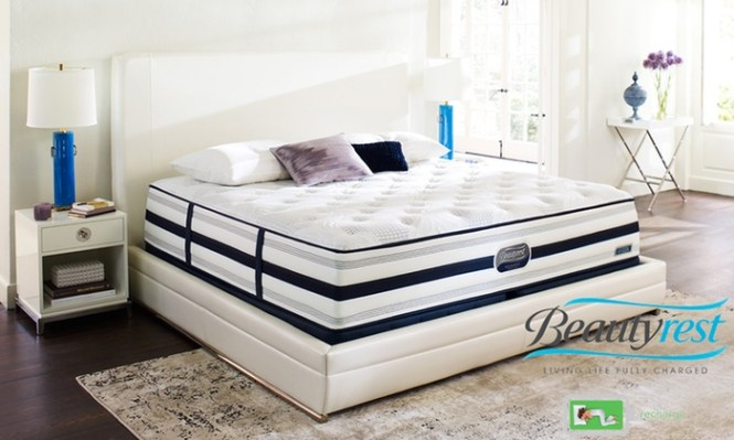 Simmons Beautyrest Recharge Plush Mattress Sets From