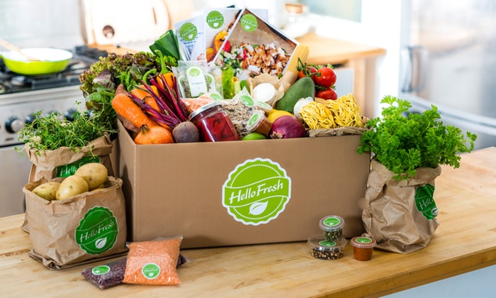 Image result for hello fresh delivery
