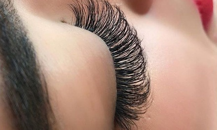 Full Set of Individual Volume Eyelash Extensions with Optional Top Up at Ten 10 Avenue Beauty Lounge (Up to 73% Off*)