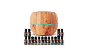 image for Art Naturals Essential Oil Diffuser with 16 Essential Oils