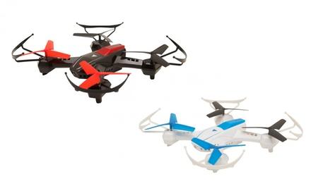 2 droni GoClever da combattimento con telecomandi e accessori con spedizione gratuita