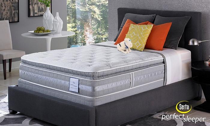 Serta Halford Pillowtop Mattress Groupon Goods