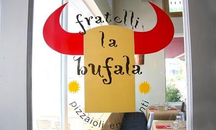 Fratelli La Bufala Napoli Vomero   Menu per 2 con cuoppo, pizza a scelta, dolce e birra (sconto 59%)